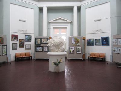 Выставка в художественной школе Александрино.