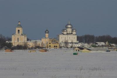Варлаамо-Хутынский монастырь.