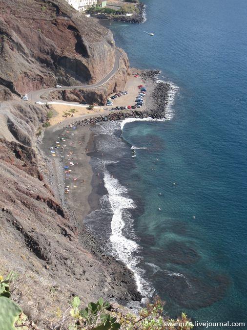 Лас Гавиотас- пляж на Тенерифе