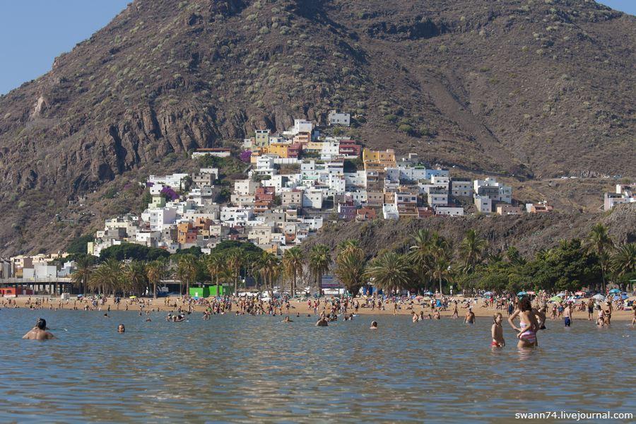 Лас Тереситас - пляж на Тенерифе