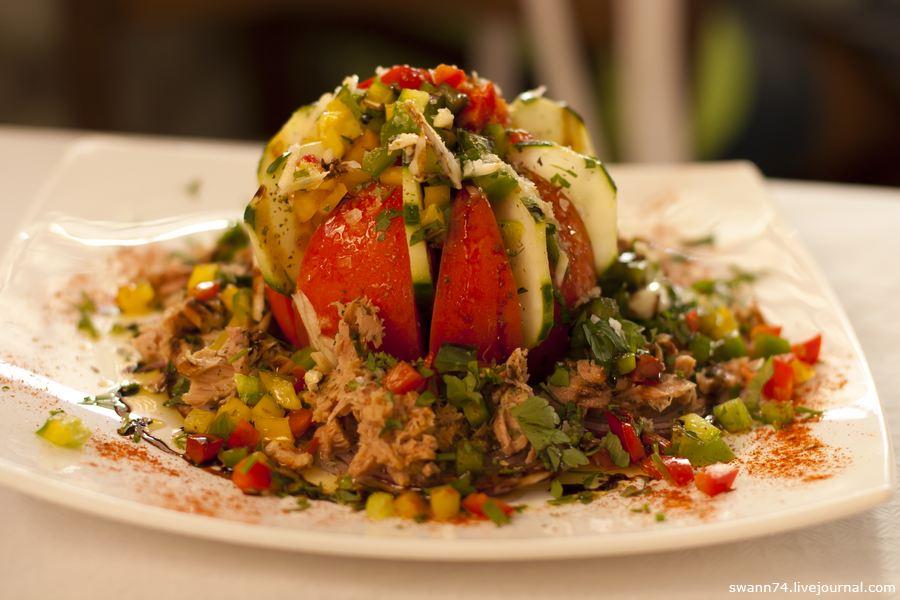 Салат из тунца Тенерифе