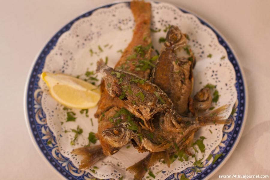 Жаренная рыба на Тенерифе