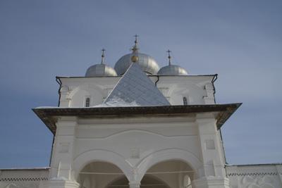 Спасо-Преображенский собор в Хутыни.