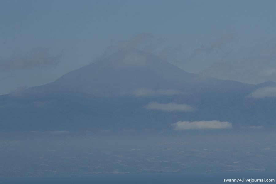 Вулкан Тейде с Ла Гомеры