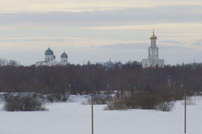 Благовещенский собор на Рюриковом городище.