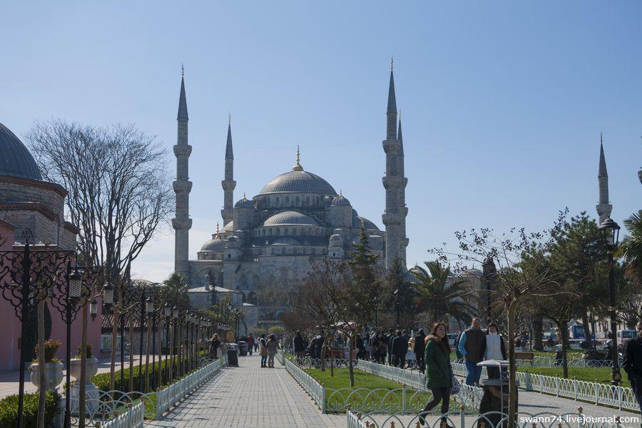 Стамбул, март 2014 года