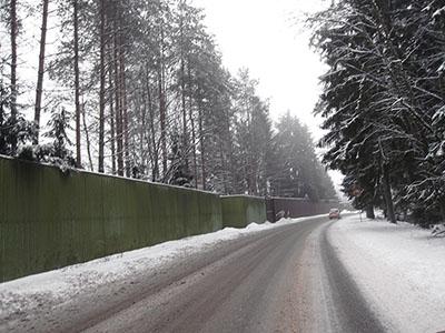 поселок Ленинское в январе 2015