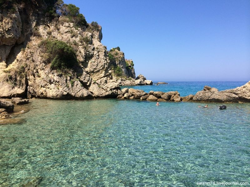 Остров Корфу, июль 2014 года