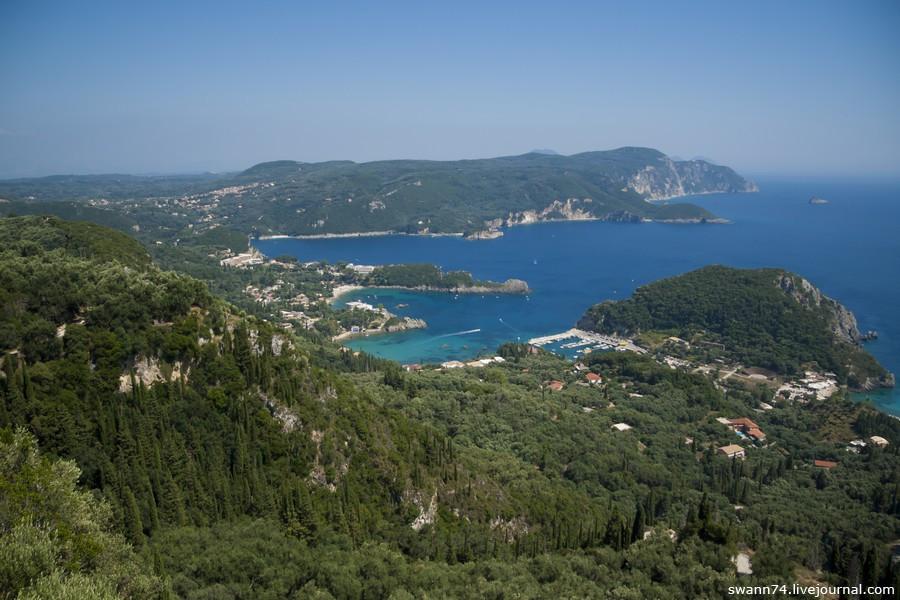 Остров Корфу, июль 2015 года