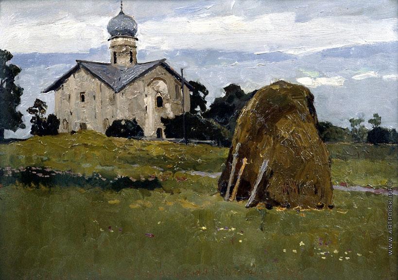 Церковь Благовещения на Мячине, Стожаров В.Ф.(1967)
