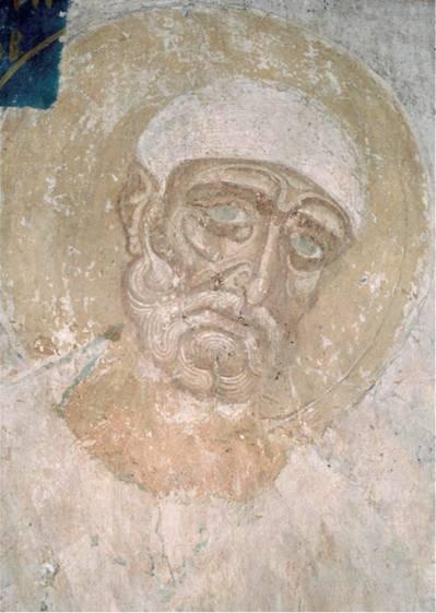 Фреска Благовещенской церкви на Мячине