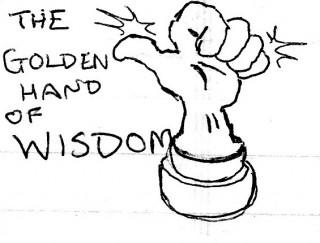 The Golden Hand of Wisdom