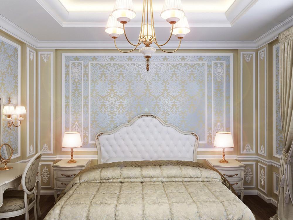 Спальня классика дизайн фото
