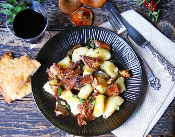блюда из рыжиков рецепты с фото