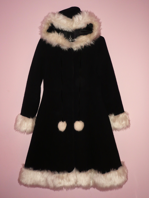 Black Maxicimam Coat for Sale