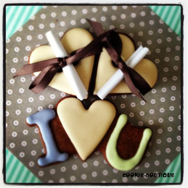Печенье с посланием рецепт