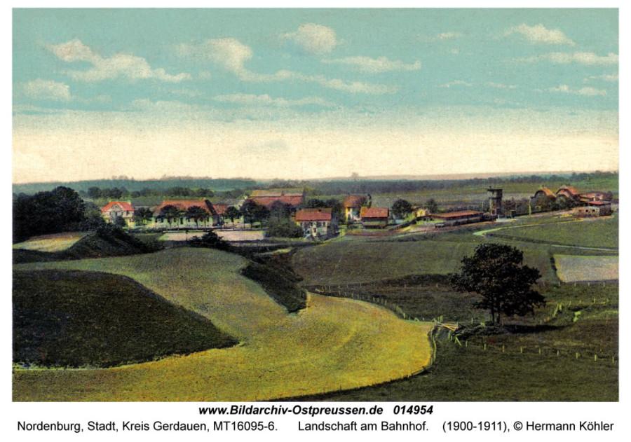 ID014954-Nordenburg_Bahnhofpartie_1911