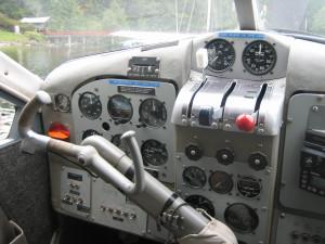 DHC-2_Cockpit