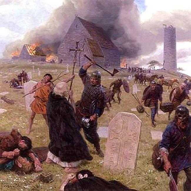 Нападение на Линдисфарн.