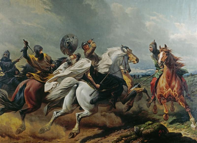 Последний бой ободритского короля Никлота.