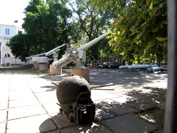 Николаев. Площадка вооружения Музея судостроения и флота