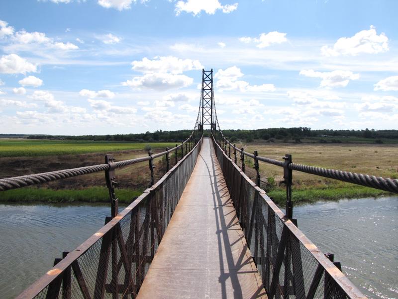 Снигиревка. Павловский мост
