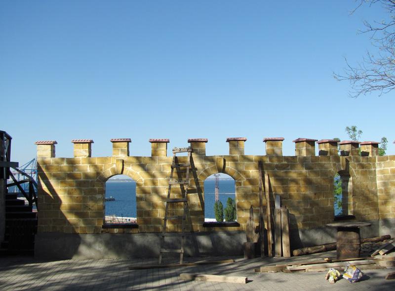Одесса. Карантинная аркада Одессы, районе, здесь, башне, судов, когда, аркада, реконструкция, историки, карантина, города, участники, умерших, время, Карантинная, годах, гавани, поселений, территории, временем
