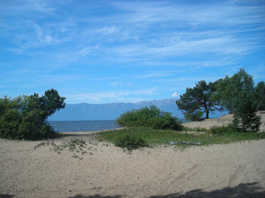 Баргузинский залив. Качели