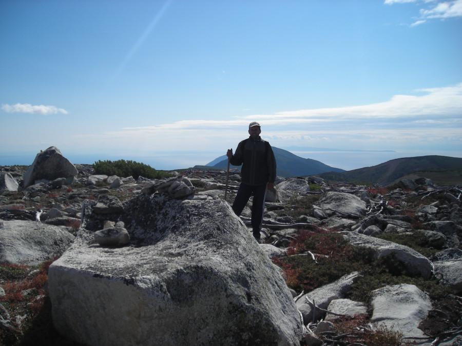 Вид с вершины.Юг