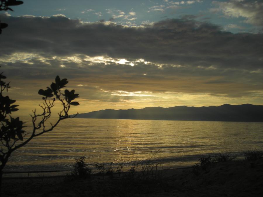 Баргузинский залив. Вечер