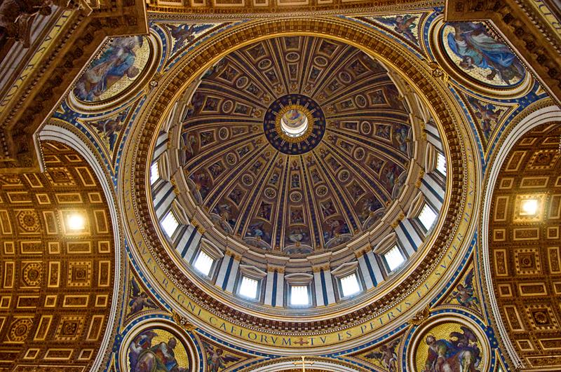 Диаметр купола собора Святого