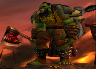 Gatagis, mighty Orc Hunter