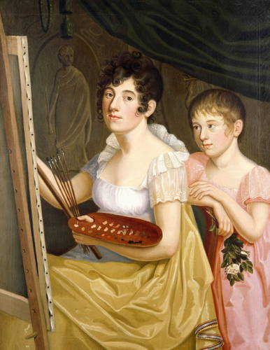Caroline_Bardua_-_Johanna_&_Adele_Schopenhauer_(1806)