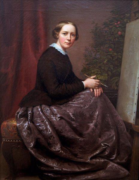 autoportrait-caroline-von-der-embde-1812