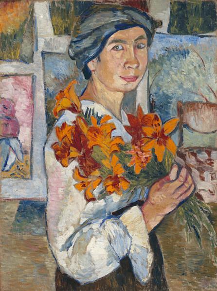 Natalia_Goncharova_(self-portrait,_1907,_GTG)