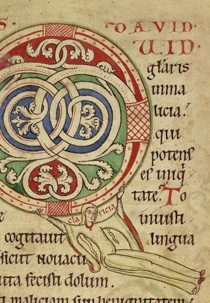 German_-_Claricia_Psalter_-_Walters_W26_-_Obverse_Detail