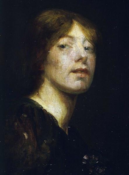 Bessie_MacNicol_-_Self-portrait_1894