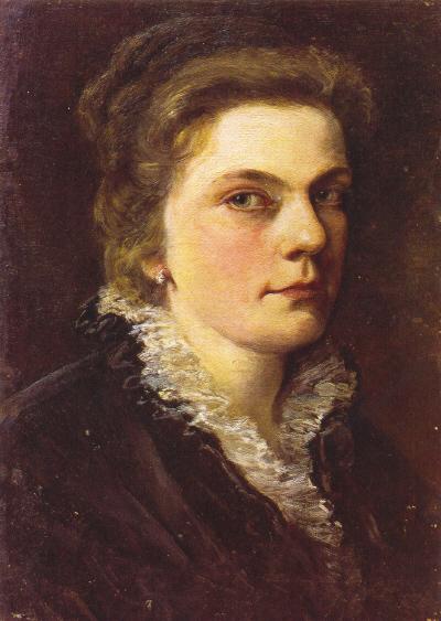 Marie_Egner_Selbstporträt_1878