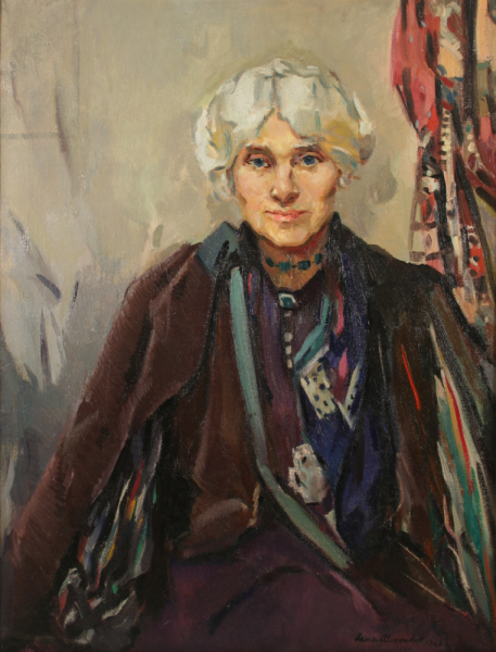 Jessie M King portrait