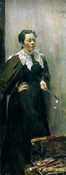 A.P._Ostroumova-Lebedeva_by_F._Malyavin_(1896)