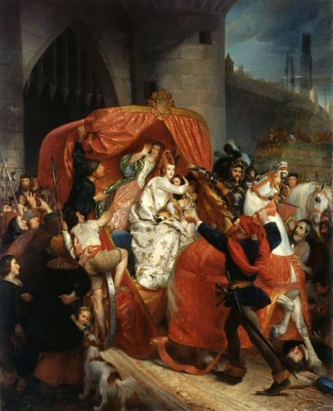 Sophie_Rude_-_La_duchesse_de_Bourgogne_arrêtée_aux_portes_de_Bruges_-_1841