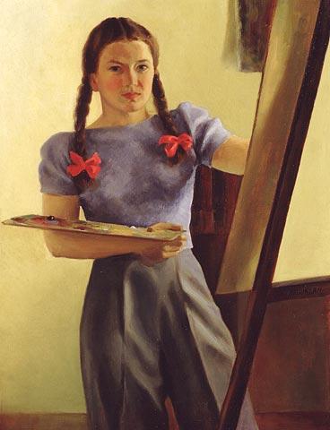 Almaduncan-selfportrait-1940