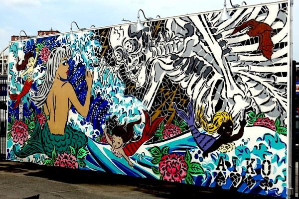 Lady-aiko-street-art-mural-coney-island-coney-art-walls