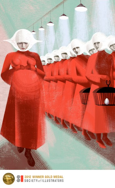 "The Handmaid""s Tale written by celebrated Canadian author Margaret Atwood"