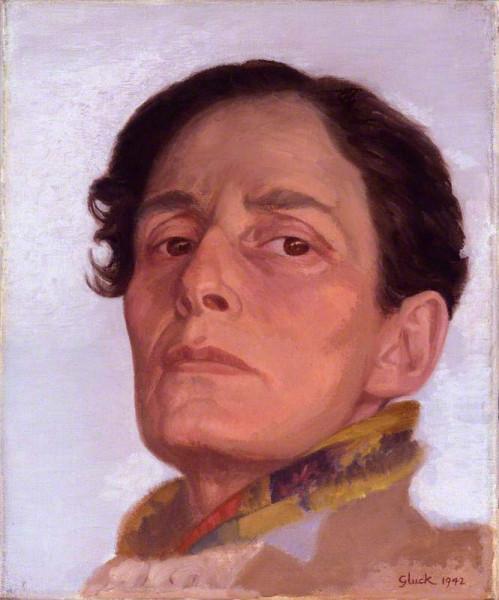 gluck-hannah-gluckstein-self-portrait