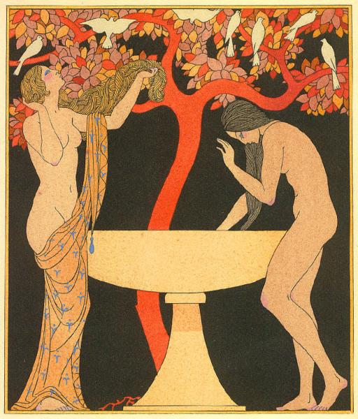George_Barbier_Untitled_pochoir_from_1922_Corrard_edition_Chansons_de_Bilitis