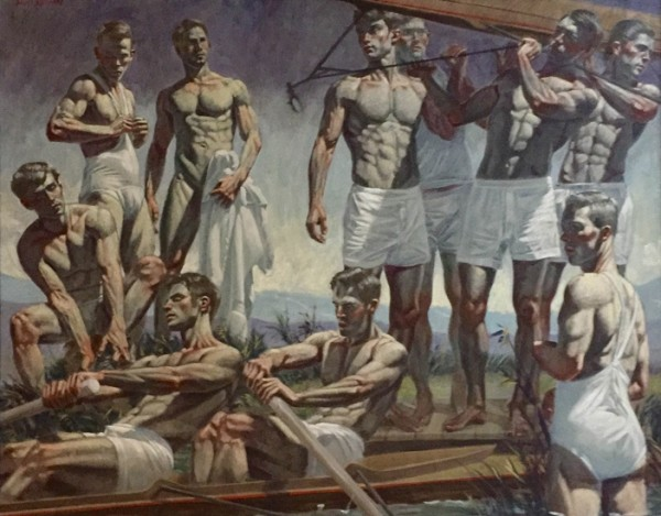 Rowers and Bathers_D