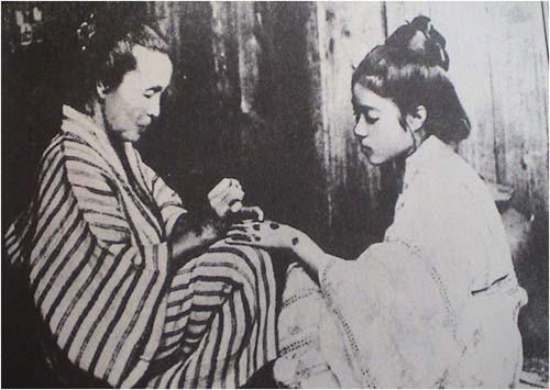 После присоединения окинавы к японии