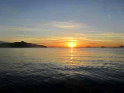 Dawn over Angel Island & SF Bay 2Nov12