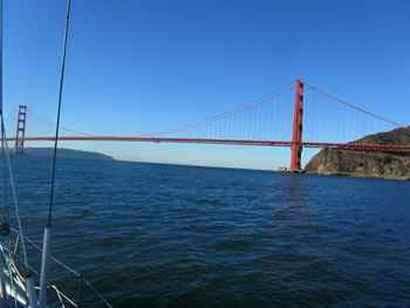 Leaving San Francisco Bay 5Nov12